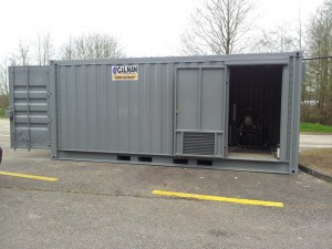 Remote Containerised Systems